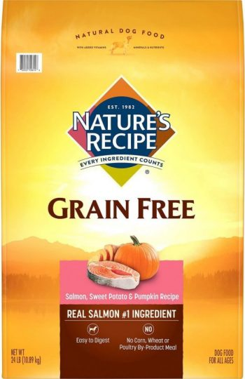 Nature's Recipe Grain-Free Salmon, Sweet Potato & Pumpkin Recipe