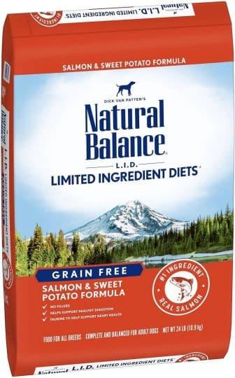 Natural Balance LID Limited INgredient Diets Grain Free Salmon & Sweet Potato Formula