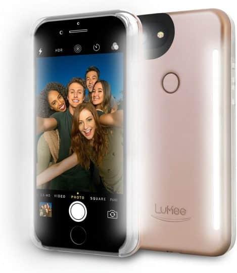 LuMee Duo Light Up Selfie Phone Case