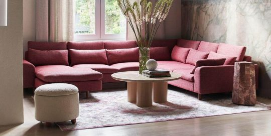 Mirren Modular Reversible One-Arm Chaise Sectional