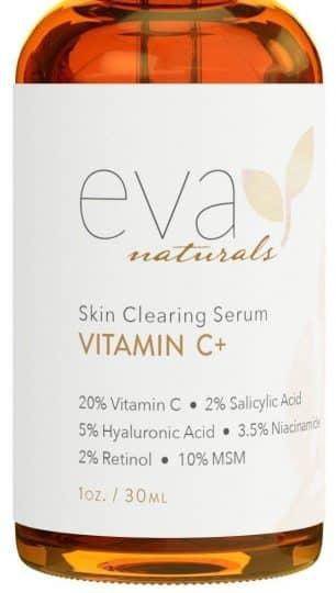 Eva Naturals Vitamin C Serum Plus 2% Retinol