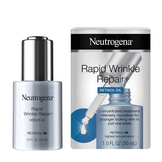 Neutrogena Rapid Wrinkle Repair Retinol Face Serum Oil