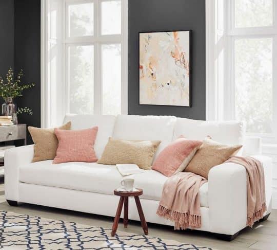 Pottery Barn Big Sur Square Arm Upholstered Sofa