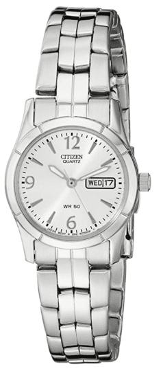 Citizen Quartz Silver-Tone Watch