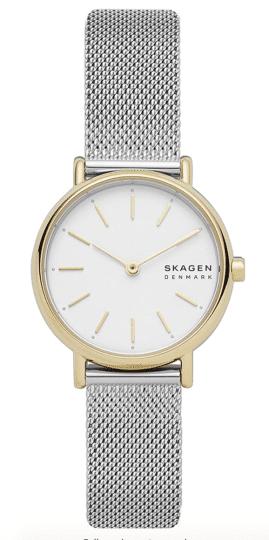 Skagen Signature Two-Hand Stainless Steel Minimalist Watch