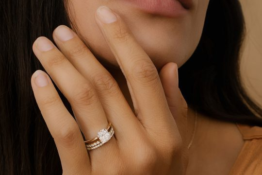 VRAI lab grown diamond ring
