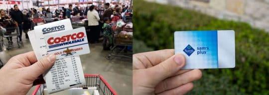 Costco vs. Sam's Club, card comparison