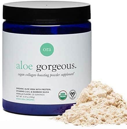 Ora Organic Aloe Gorgeous Collagen Boosting Powder