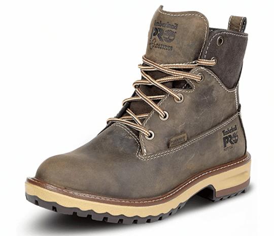 Timberland PRO Women's Hightower Soft Toe Waterproof Work Boot