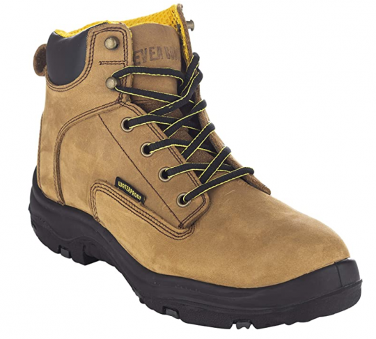 EVER BOOTS Ultra Dry Men's Premium Leather Waterproof Work Boots