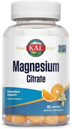 Kal Magnesium Citrate Gummies