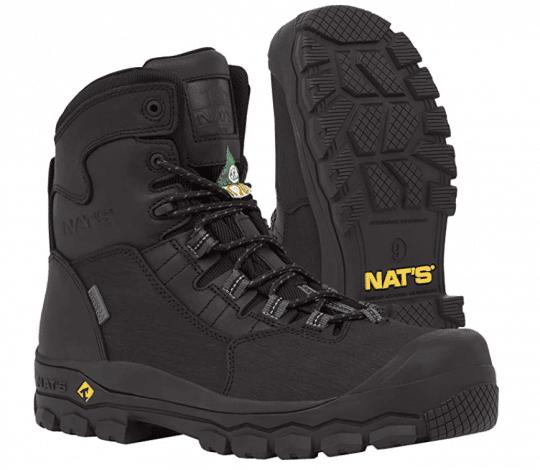 NAT'S 100% Waterproof Steel Toe Boots for Men