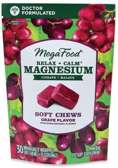 MegaFood Magnesium Soft Chews