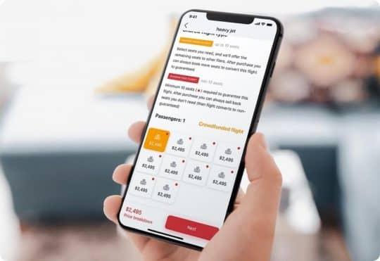 FlyXO mobile app