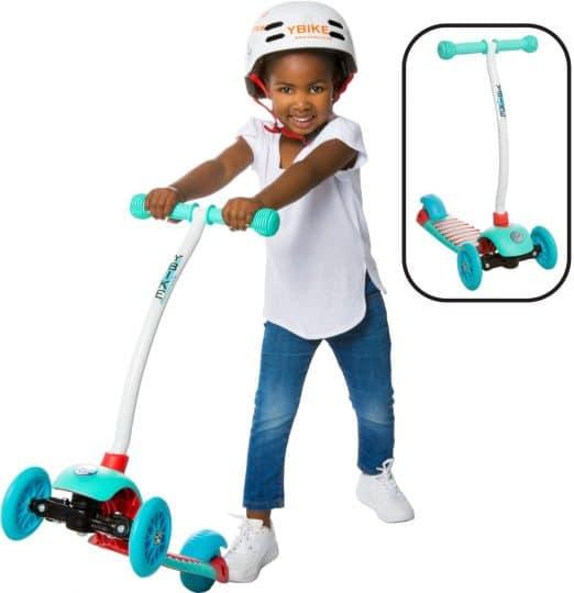 YBIKE Kids GLX Cruze 3-Wheel Scooter