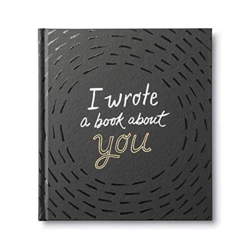 """A personalized book called """"I Wrote a Book About You"""""""