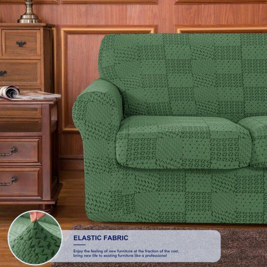 Red Barrel Studio® Cushion Sofa Slipcover