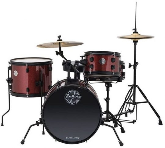 Ludwig Junior Questlove Pocket 4-Piece Drum Set