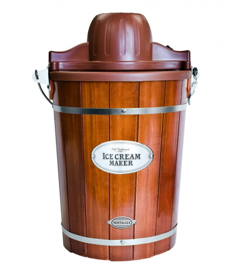 Vintage old fashioned ice cream maker