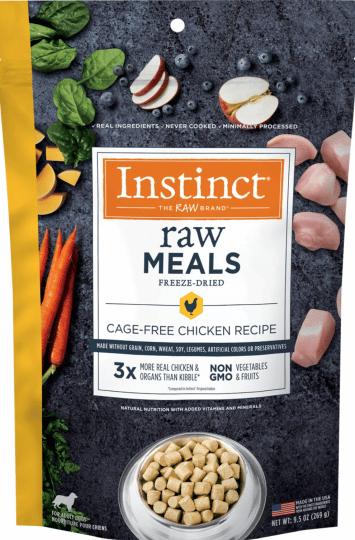 Instinct Raw Meals Chicken Recipe