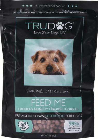 True Dog Food Munchy Crunchy Gourmet Gobbler