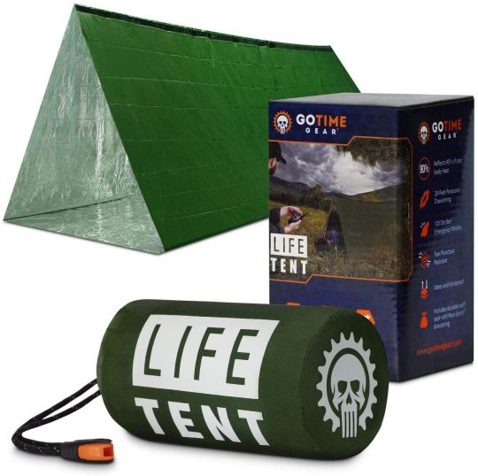 Go Time Gear Life Tent Emergency Shelter