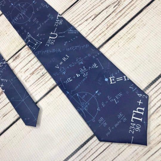 Math Formulas Necktie