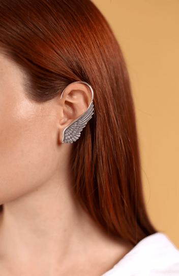 Metal Winged Ear Cuff