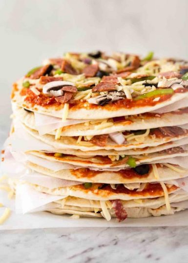 Pizza layers