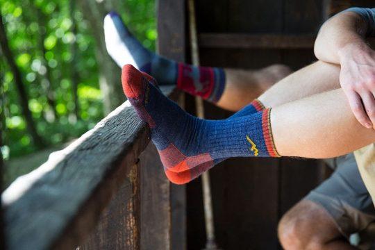 Darn Tough mens Hiker Merino Wool Micro Crew Socks Cushion